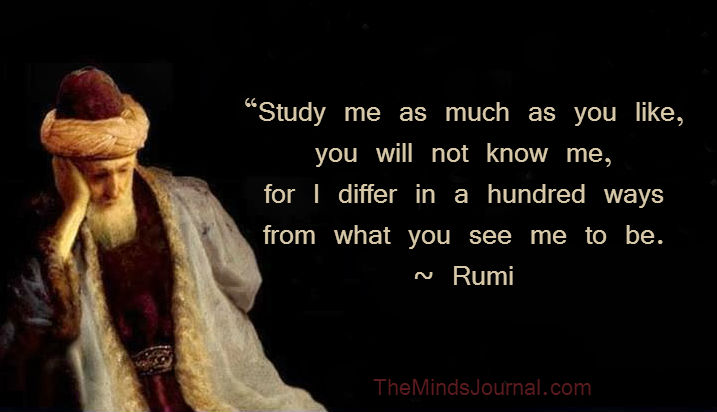 25 Life Changing Lessons To Learn From Rumi The Minds Journal