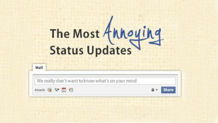 6 Facebook Statuses That Need To Stop Right Now