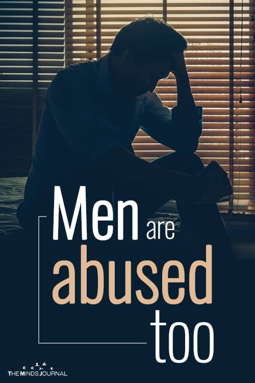 Men can be abused too