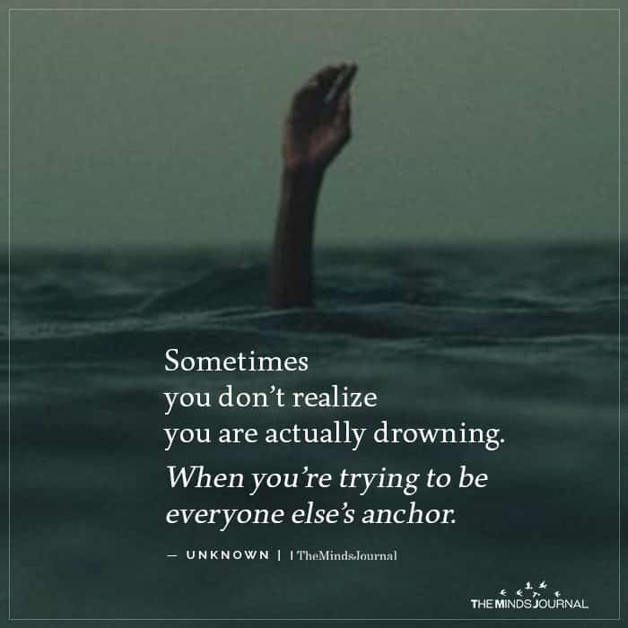 Sometimes You Dont Realize
