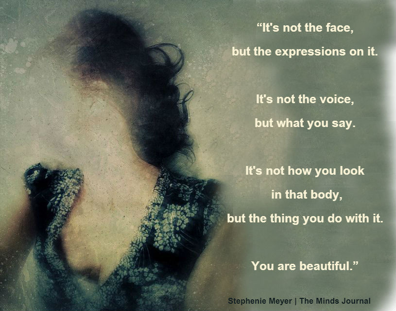 Beauty doesn't have a Face