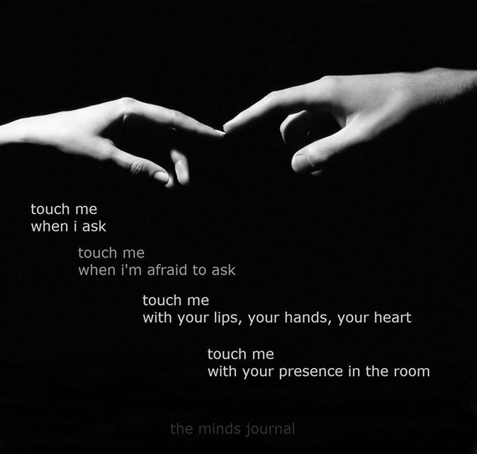 Touch Me – with your Presence
