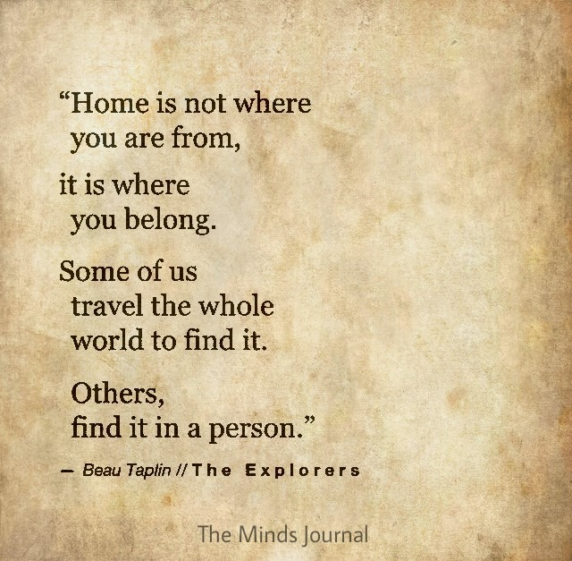 What is a Home to you ?