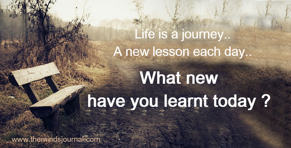 What new have you learnt today ?