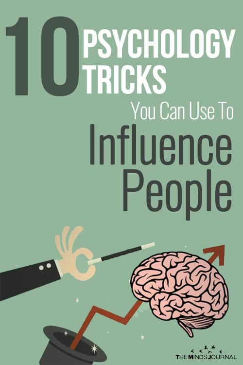 10 Psychology Tricks You Can Use To Influence People pin