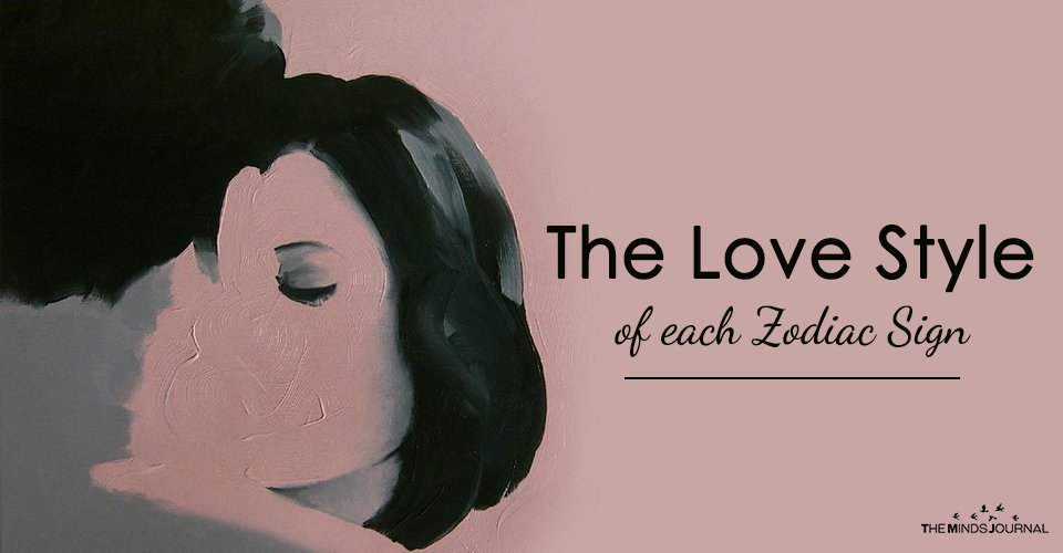 The Love Style of each Zodiac Sign