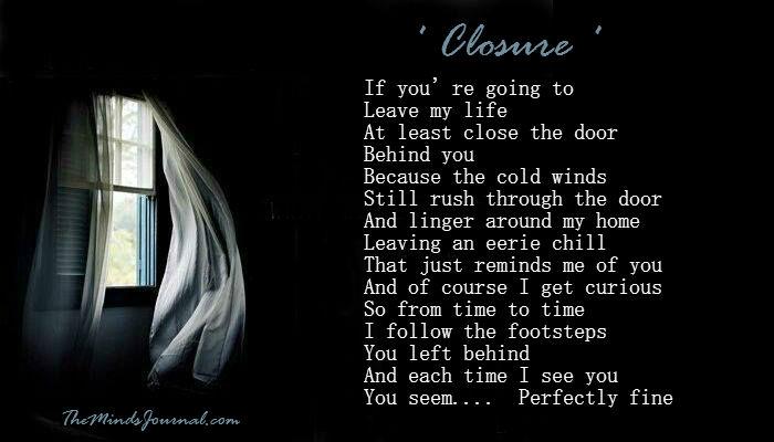 Closure – 'One Last Time'