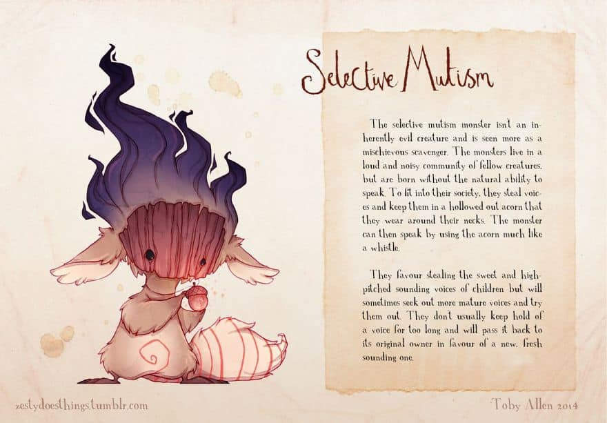 selective mutism Monsters inside your Head