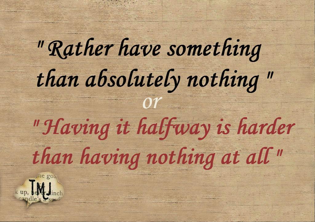 Something or Nothing ?