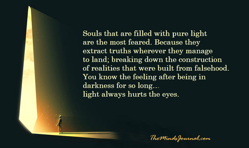 Souls that are filled with pure light