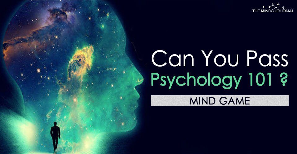 Can You Pass Psychology 101? – MIND GAME