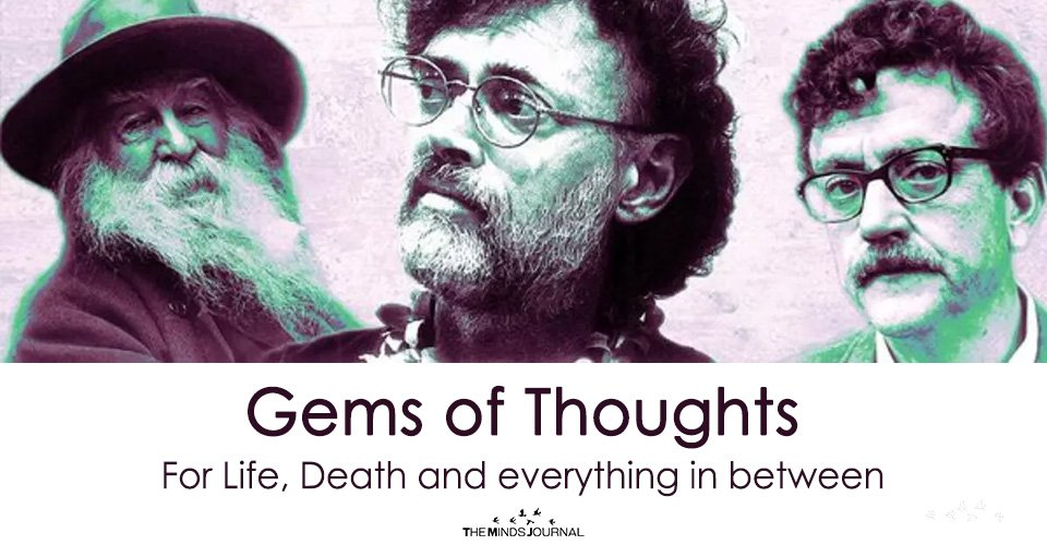 Gems of Thoughts – For Life, Death and everything in between