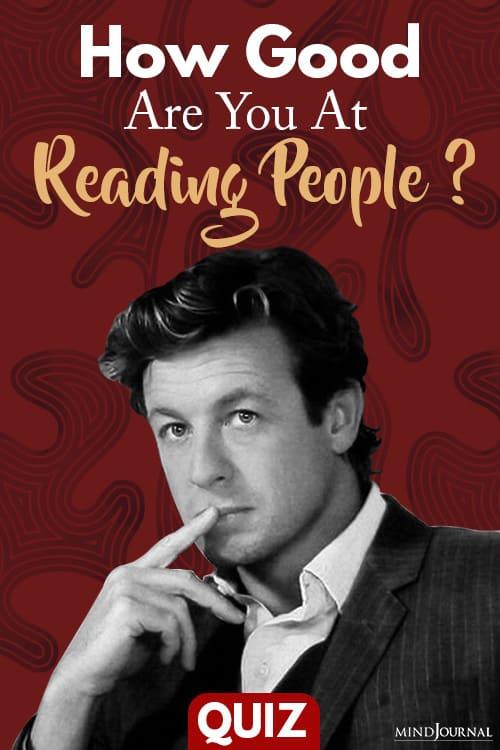 Good At Reading People pin