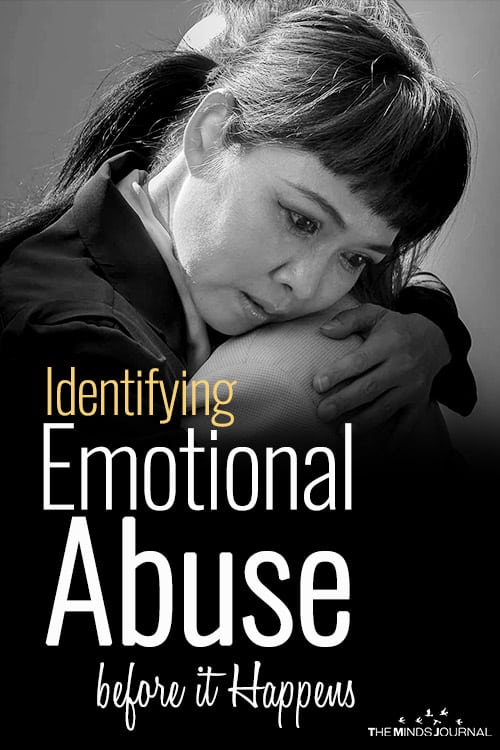 Identifying Emotional Abuse before it Happens.