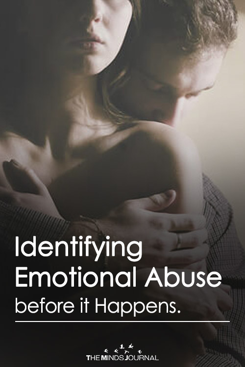 Identifying Emotional Abuse before it Happens