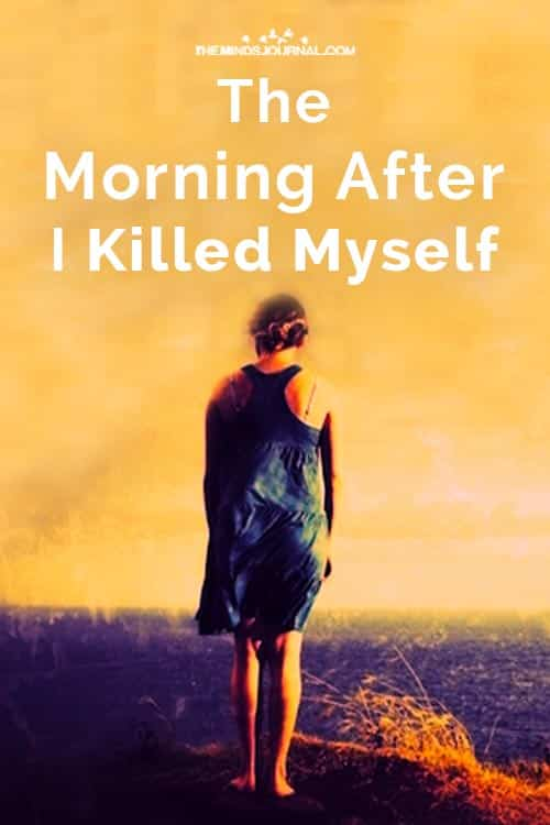 Morning After I Killed Myself suicide pin