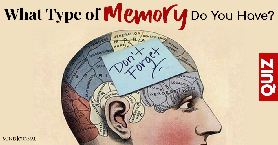 Type Memory Do You Have