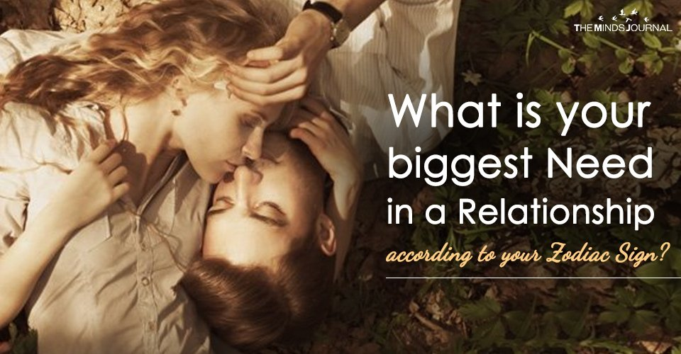 What is your biggest Need in a Relationship according to your Zodiac Sign (2)
