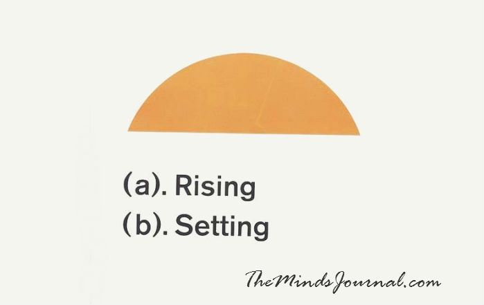 Is your Sun Rising or Setting ?