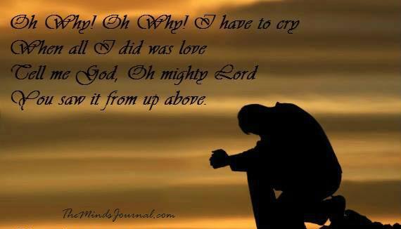 Tell me God – My Mind Talk