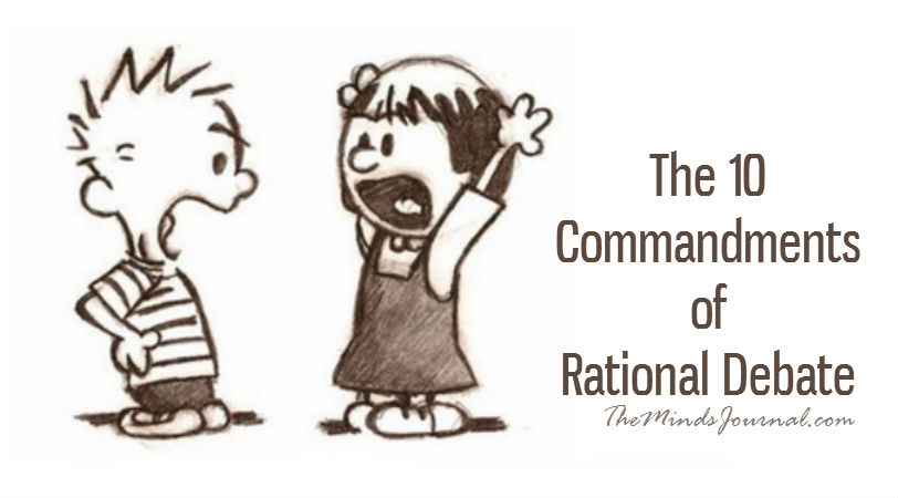 THE 10 COMMANDMENTS OF RATIONAL DEBATE LOGICAL FALLACIES EXPLAINED]