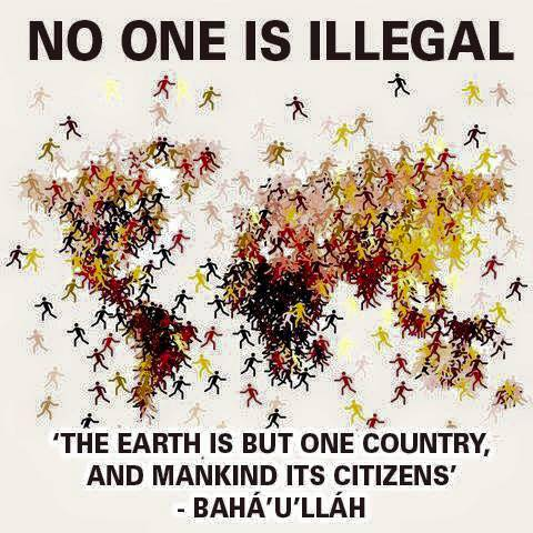 """The Earth is but one country, and mankind its citizens."""