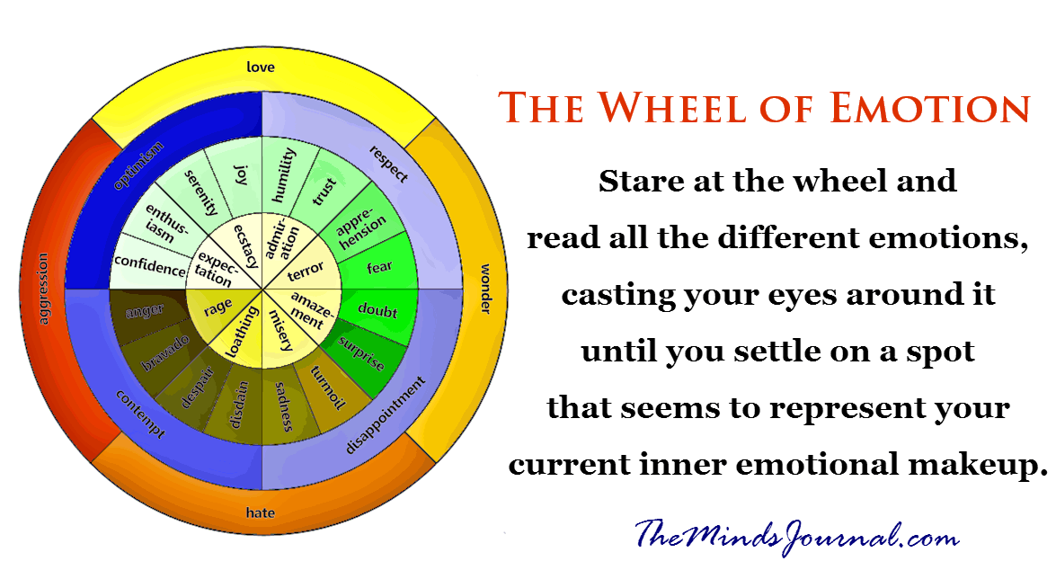 The Wheel of Emotion – Robin Nixon