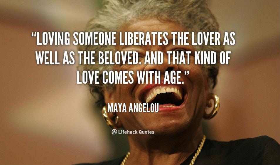 True Love Liberates: Maya Angelou Speaks on Love – MIND VIDEO
