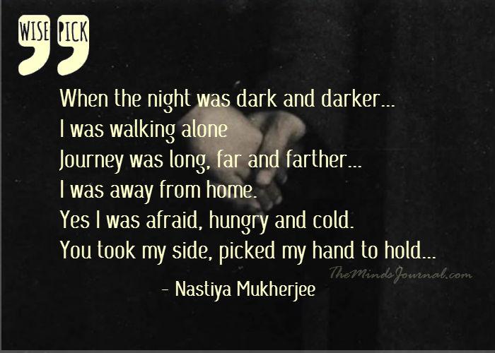 When the night was Dark and Darker