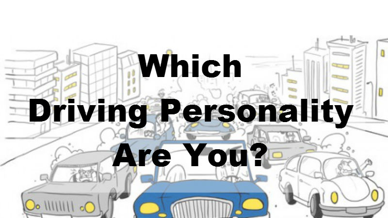 Which Driving Personality Are You? – MIND GAME