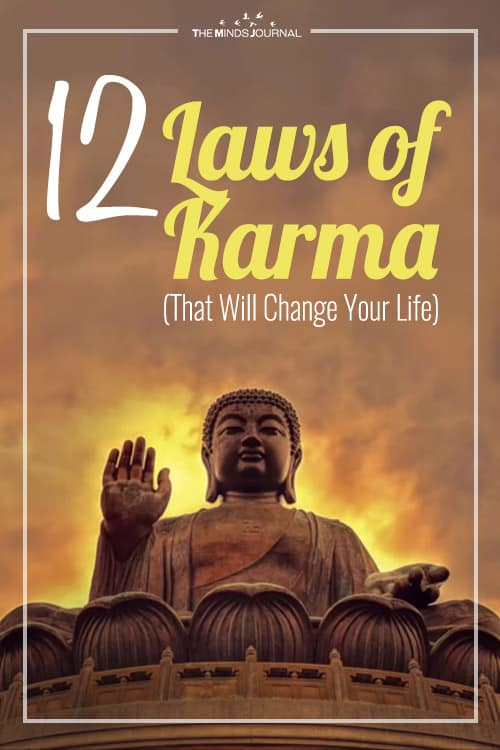 12 Little Known Laws of Karma pin