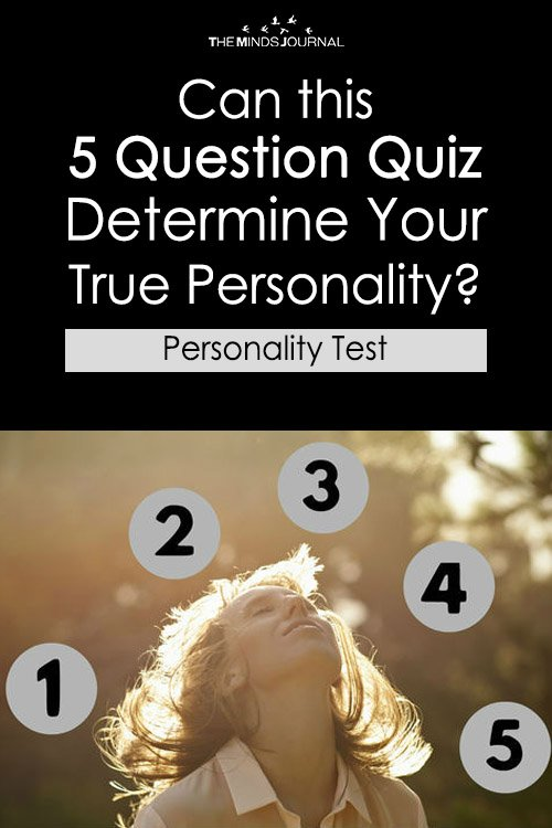 Can this 5 Question Quiz Determine Your True Personality – MIND GAME