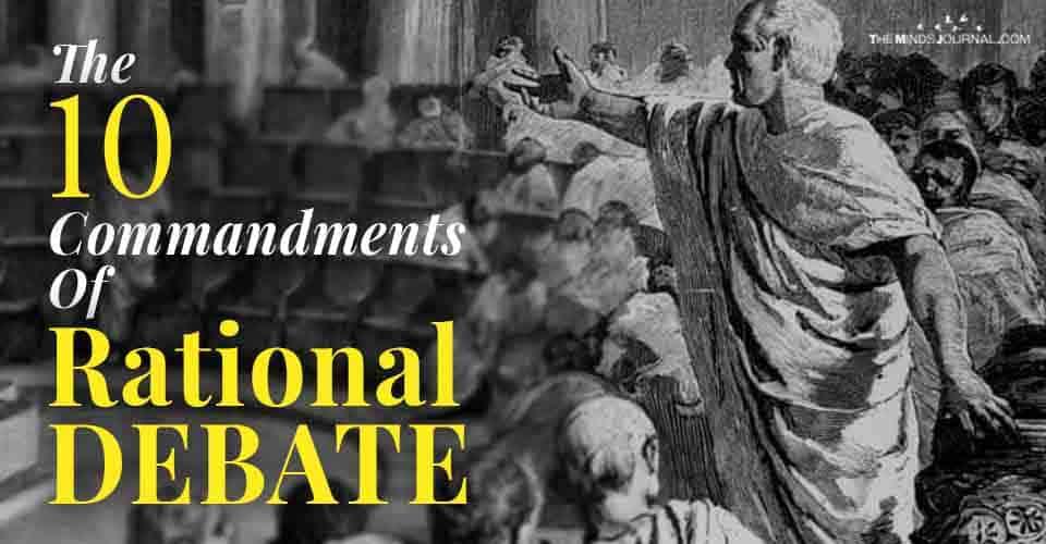 Commandments Of Rational Debate