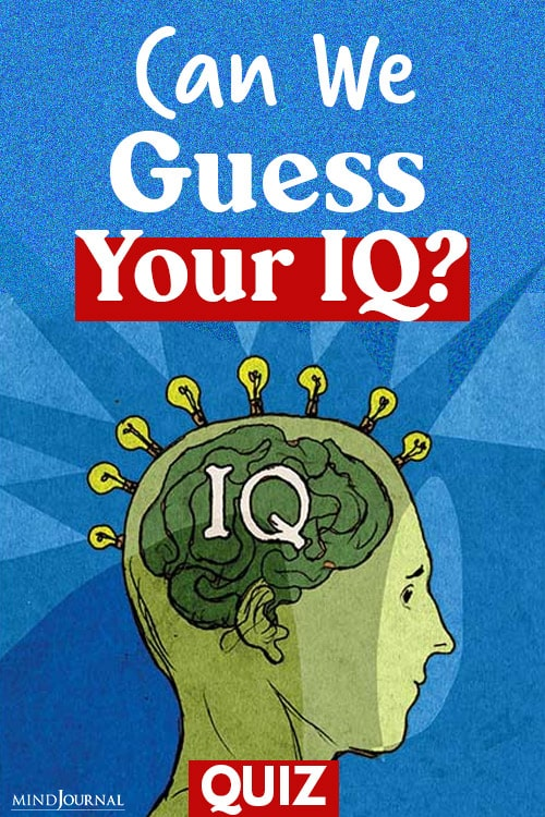 Guess Your IQ pin quiz