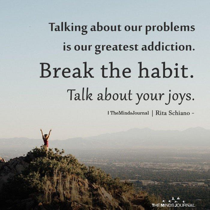 Let's Talk About Your Joys