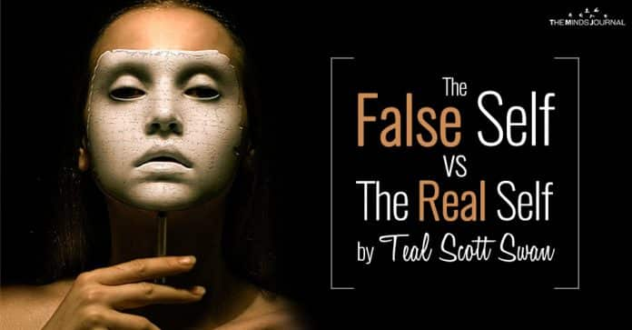 The False Self vs The Real Self by Teal Scott Swan