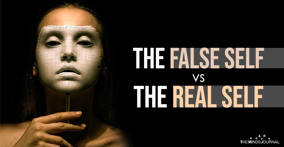 The False Self vs The Real Self
