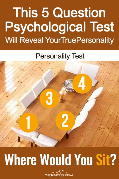 This 5 Question Psychological Test Will Reveal Your True Personality