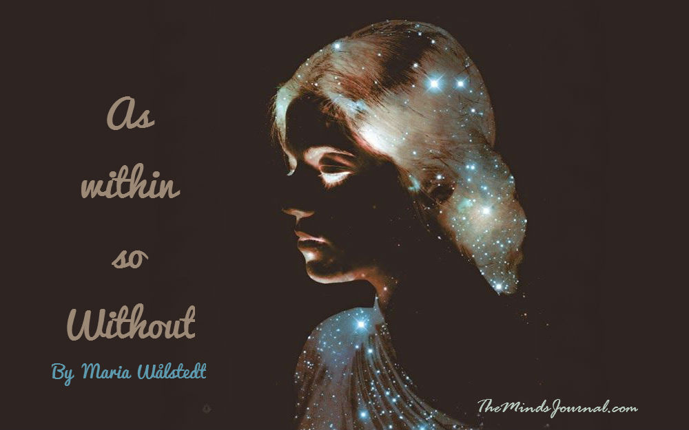 As within so without. – Mind Talk
