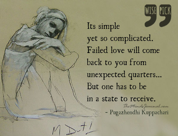 Failed love will come back to you from unexpected quarters – WISE PICK
