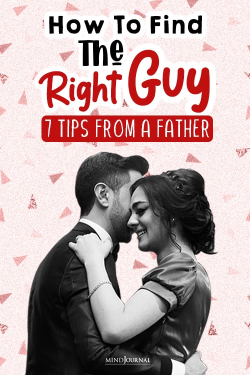 find the right guy pin