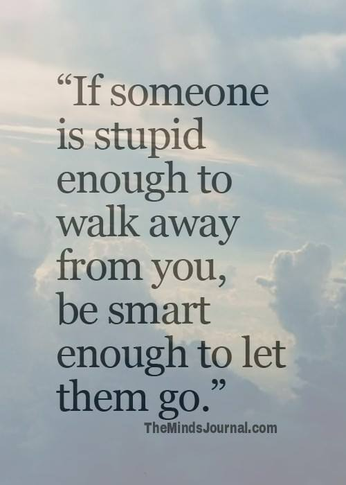 If someone is stupid enough to leave