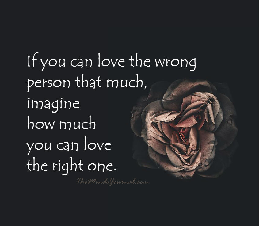If You Can Love The Wrong Person