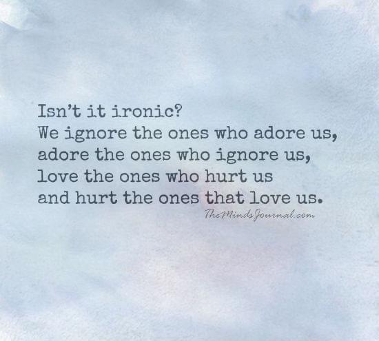 Isn't it Ironic
