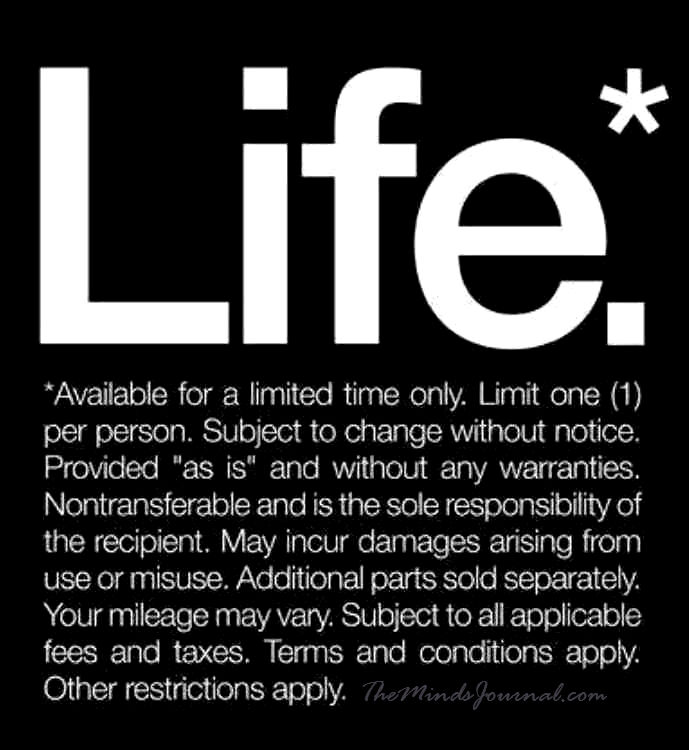 LIFE – Available for a limited time only