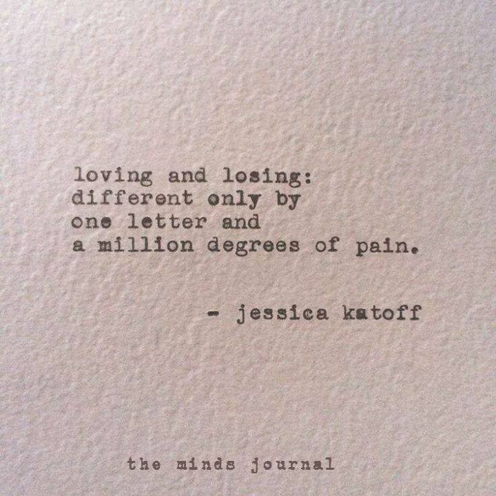 Loving and Losing