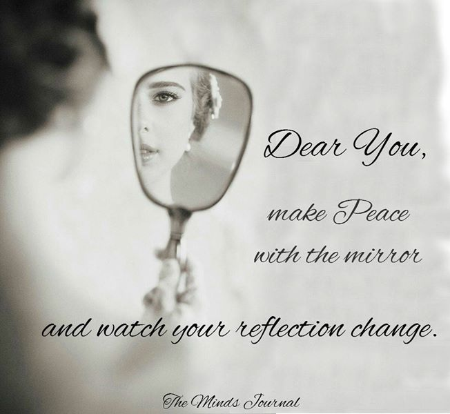 Make peace with the Mirror
