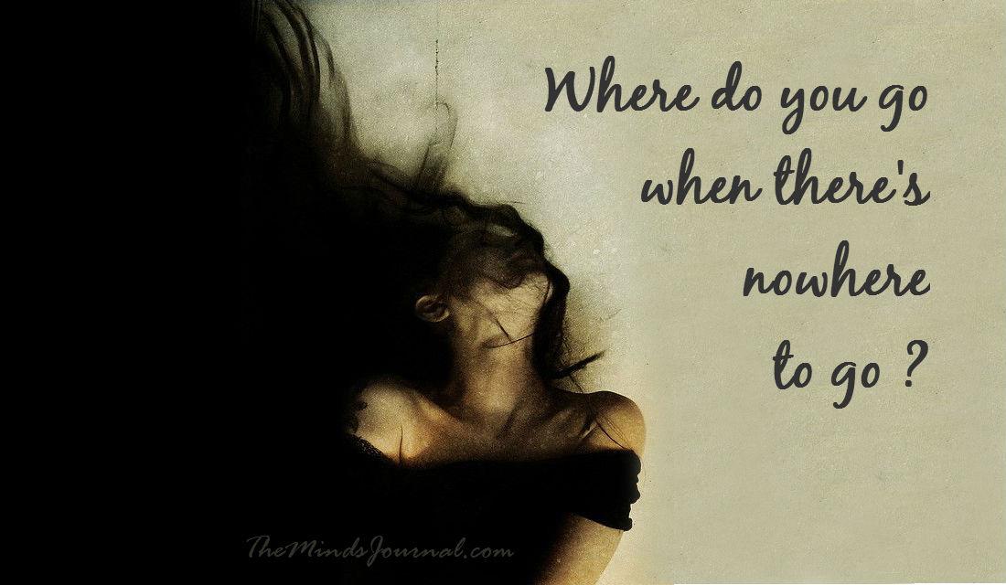 Nowhere to go – MIND TALK