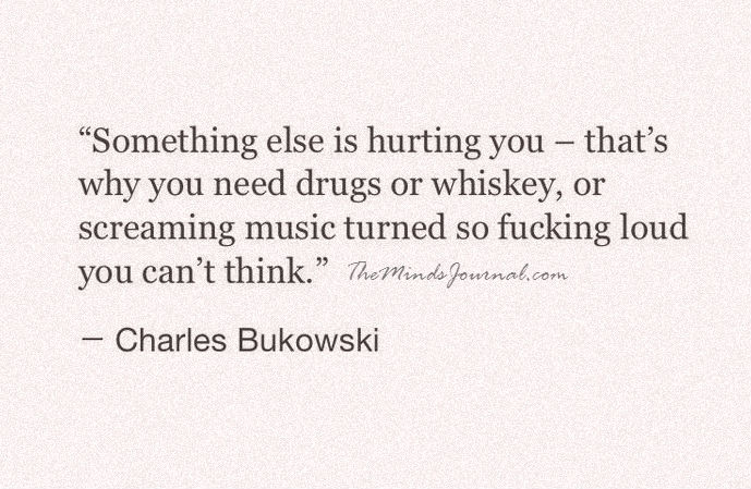 SOMETHING ELSE IS HURTING YOU