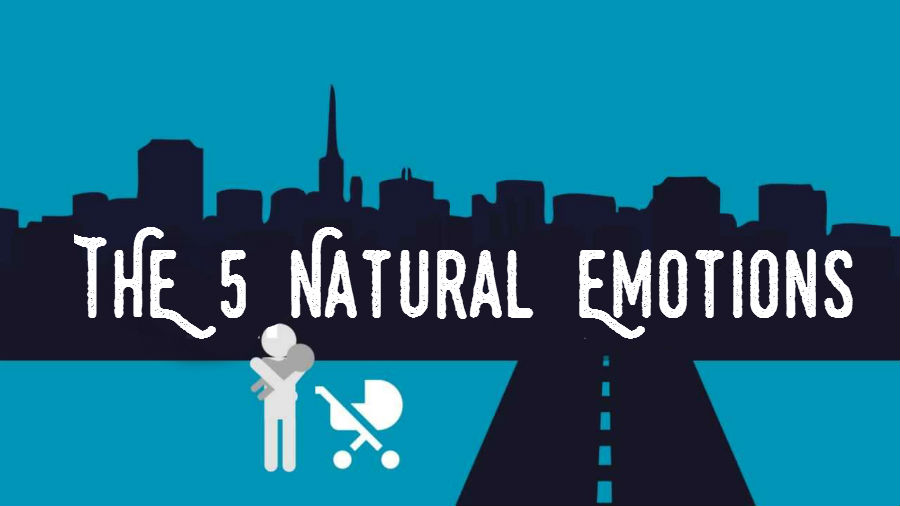 "The 5 Natural Emotions - ""The key isn't to stop feeling. It's to start."" - MIND VIDEO"